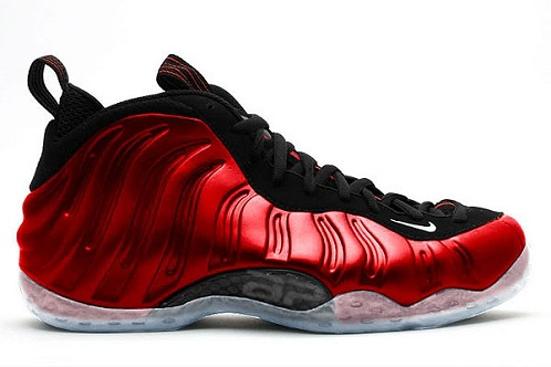 Release Reminder: Nike Air Foamposite One Varsity Red/White-Black