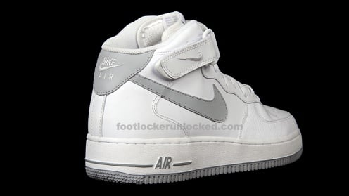 Release Reminder  Nike Air Force 1 Mid White Grey  5ef5a029f2