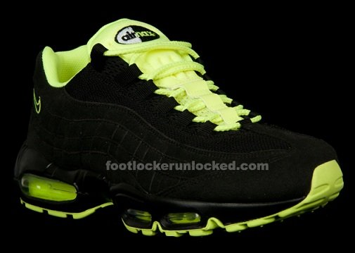 Release Reminder: Nike Air Max 95 Black/Volt