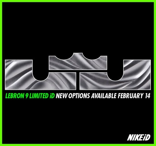 Release Reminder: Nike LeBron 9 iD Option Updates