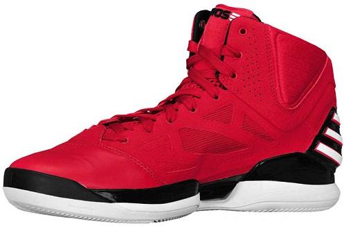 adidas adiZero Rose 2.5 - Scarlet/Black/White