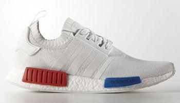 adidas NMD OG White Red Blue