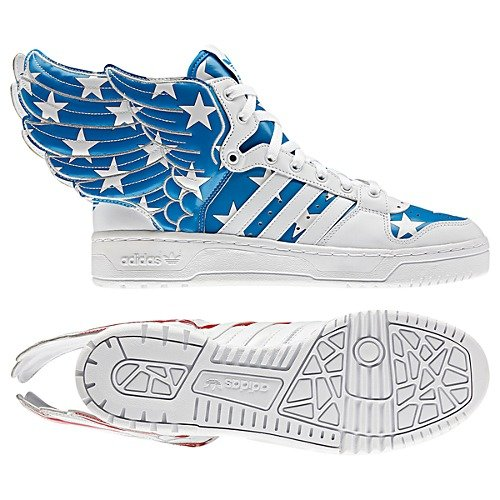 adidas Originals by Jeremy Scott Wings 2.0 'Old Glory' - Now Available