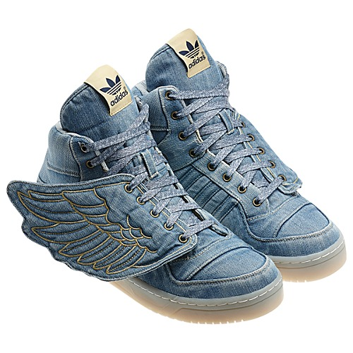 quality design 53148 50271 adidas Originals by Jeremy Scott Wings Denim - Now Available