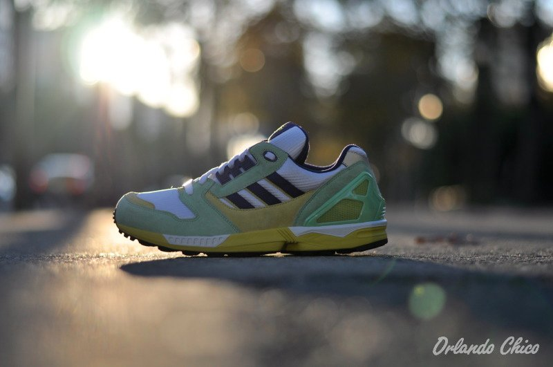 adidas Originals ZX 8000 'White/Supergreen-Purple' - March 2012