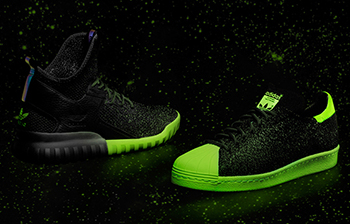 adidas Primeknit Glow in the Dark