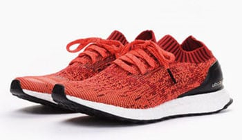 adidas Ultra Boost Uncaged Scarlet Red Solar