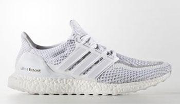 adidas Ultra Boost White Reflective