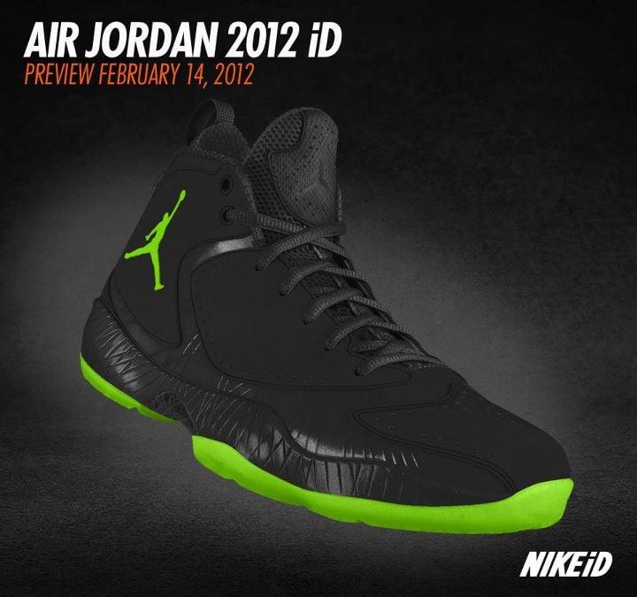 Air Jordan 2012 Nike Id