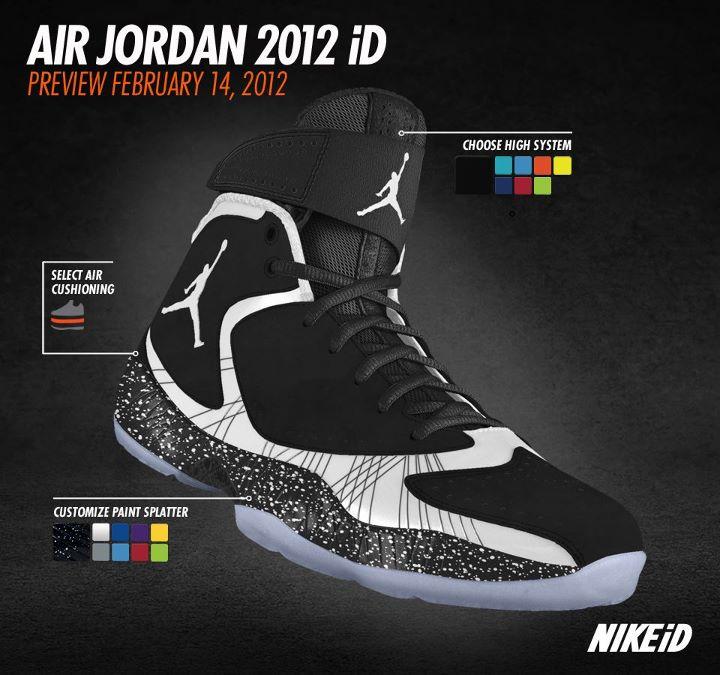 1f103724e341a Air Jordan 2012 NikeiD Options