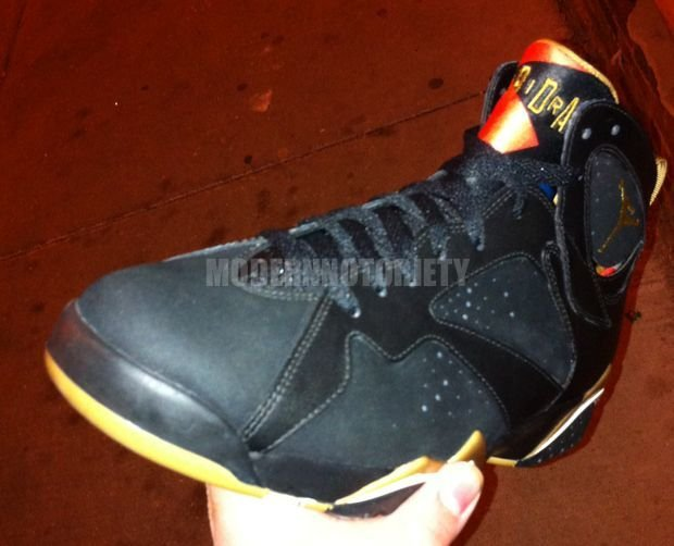 Air Jordan VII (7) 'Gold Medal' Sample