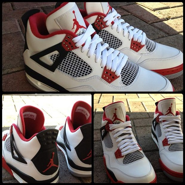 Air Jordan IV (4) 'Fire Red' - New Images