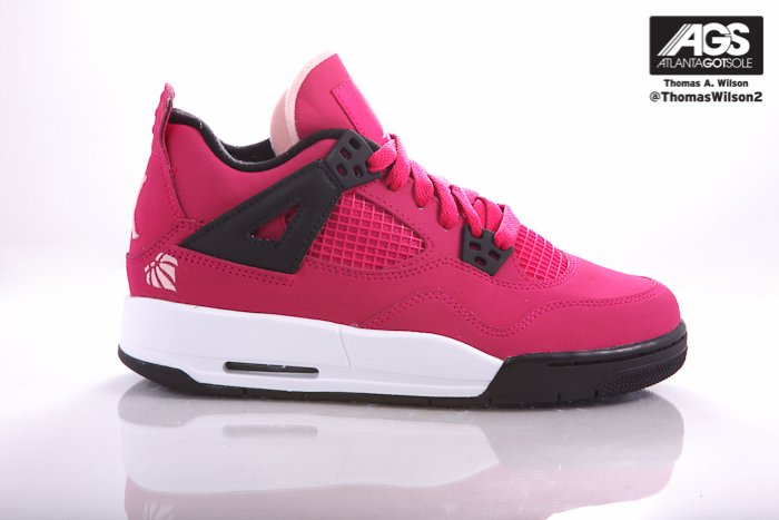 Air Jordan IV (4) GS 'Voltage Cherry' - Another Look