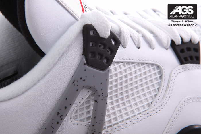 Air Jordan IV (4) 'White/Cement' - Another Detailed Look