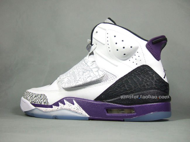 Air Jordan Son of Mars 'White/Club Purple' - Detailed Images
