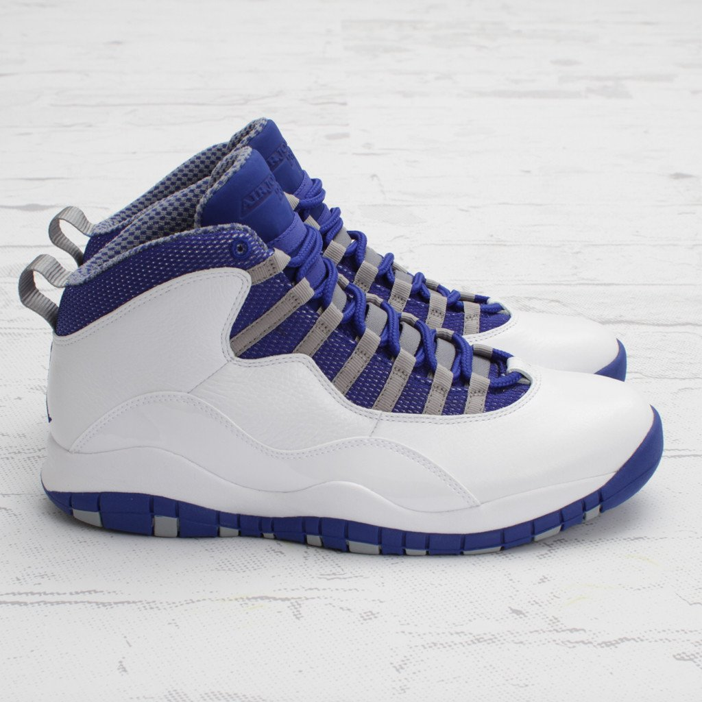 Air Jordan X (10) TXT 'Old Royal' - Another Look