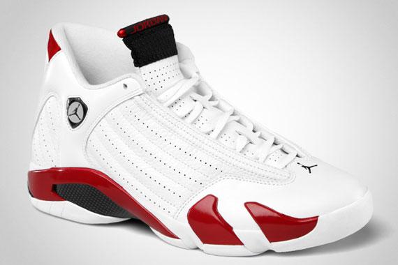 Air Jordan XIV (14) 'White/Varsity Red-Black' - Official Images