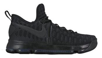 Black Space Nike KD 9