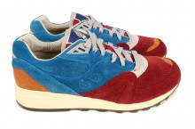Bodega x Saucony Elite Master Control 'Red/Blue' – Now Available