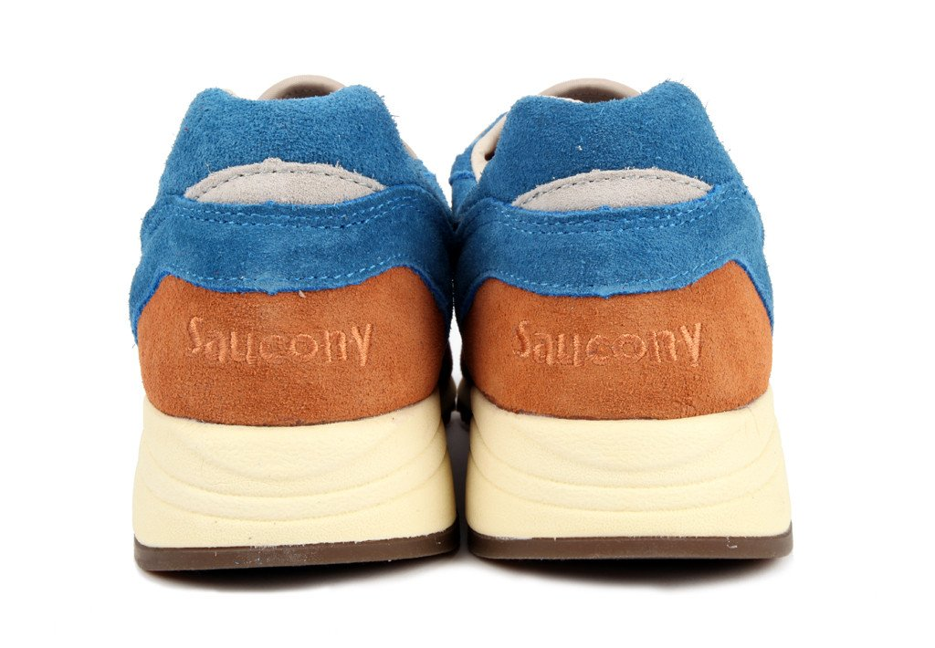 Bodega x Saucony Elite Master Control 'Red/Blue' - Now Available