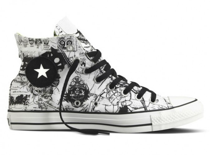 Gorillaz x Converse Chuck Taylor All-Star Collection - Now Available