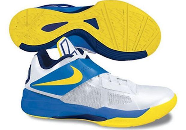 Nike Zoom KD IV White/Photo Blue-Midnight Navy-Tour Yellow