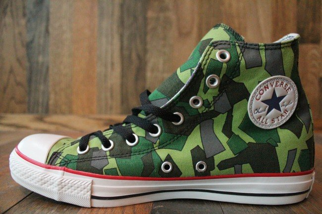 84ca086a8ca083 Gorillaz x Converse Chuck Taylor All-Star Hi  Camo  - Now Available ...