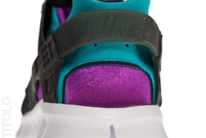 Nike Huarache Free 2012 'Black/Tropique-Magenta'