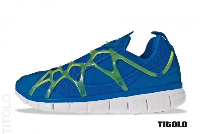 Nike Kukini Free 'Soar/Cyber-White'