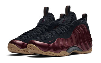 Maroon Nike Foamposite One