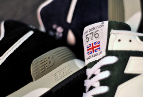 New Balance 576 'Made In UK' Suede Pack