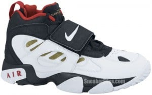 595a39a2907 Nike Air Diamond Turf Black White Gold Release Date