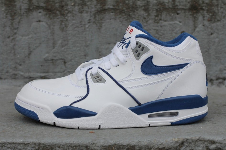 save off 518aa c78c4 Nike Air Flight 89  White True Blue  - Now Available