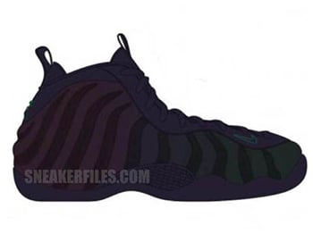 Nike Air Foamposite One Invisibility Cloak