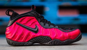 Nike Air Foamposite Pro Red Black