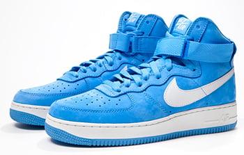 Nike Air Force 1 High QS Powder Blue Release Date