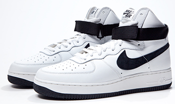 Nike Air Force 1 High QS White Black 2016 Release Date