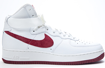 Nike Air Force 1 High QS White Red 2016 Release Date