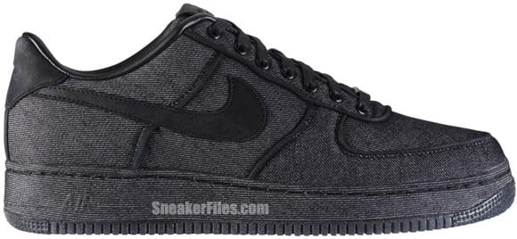 Nike Air Force 1 Low Premium 'Black Denim'
