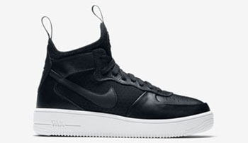 Nike Air Force 1 UltraForce 1 Mid Black Release Date