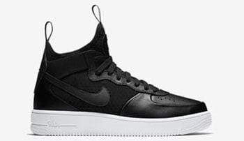 Nike Air Force 1 UltraForce 1 Mid Black Silver Release Date