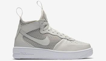Nike Air Force 1 UltraForce 1 Mid Light Bone Release Date