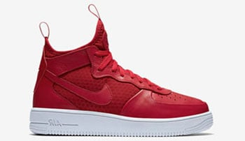 Nike Air Force 1 UltraForce 1 Mid Red Release Date