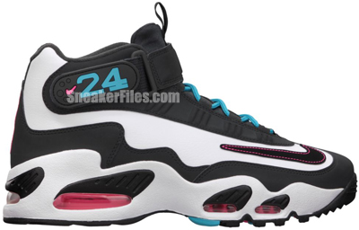 cheap for discount 87cc5 8fa1d Nike Air Griffey Max 1 Home Run Derby South Beach Release Date 2012