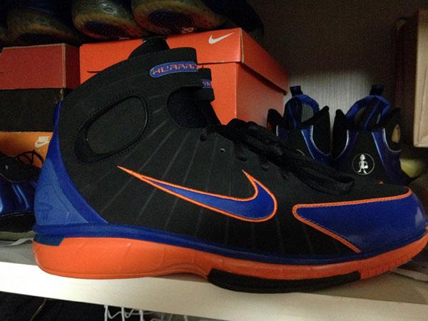 meet df610 39412 Nike Zoom Huarache 2K4 Penny Hardaway New York Knicks PE ...