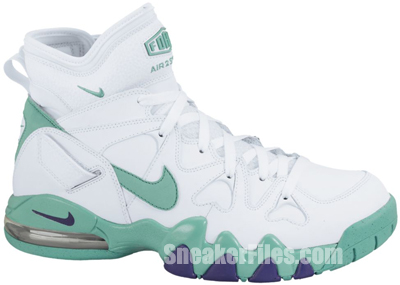Nike Air Max 2 Strong White Violet Teal Release Date 2013