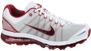 Nike Air Max 2009 White Red Mahogany Sport Release Date 2012