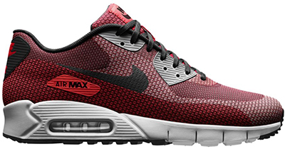 Nike Air Max 90 Jacquard Laser Crimson Release Date 2014