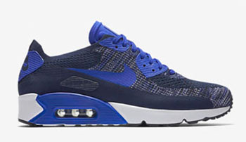 Nike Air Max 90 Ultra 2.0 Flyknit Navy