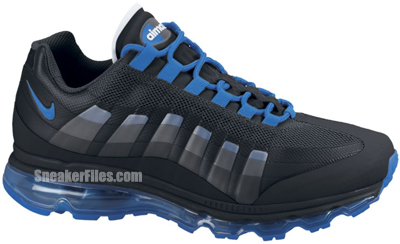 sneakers for cheap 4d690 2ce00 Nike Air Max 95 360 Black Soar Anthracite Release Date 2012